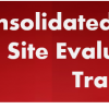 Consolidated Test Site Evaluator Training Program
