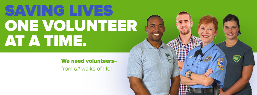 Saving lives one volunteer at a time. We need volunteers - from all walks of life! Learn more.